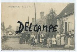 CPA - Condé-Folie -  Rue De La Poste - France