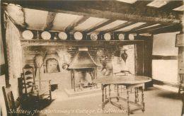 Kitchen, Anne Hathaway's Cottage, Stratford On Avon Postcard - Stratford Upon Avon