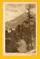CPA  FRANCE  74  -  DUINGT  -   12244  L'Eglise Et Le Château  ( En 1943 ) - Duingt