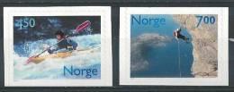 Norvège 2001 N°1332/1333 Neufs** Sports Loisirs - Norvegia