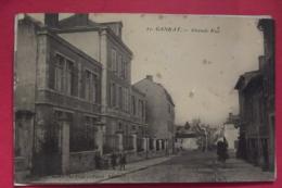 Cp  Gannat Grande Rue - France