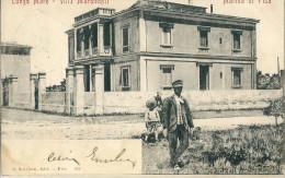 CPA ITALIE MARINA DI PISA LUNGO MARE VILLA MARONCELLI 1904 - Italië
