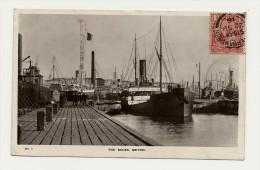 Royaume Uni écosse The Docks Methil Boat Bateau De Commerce 2 Scans - Scotland