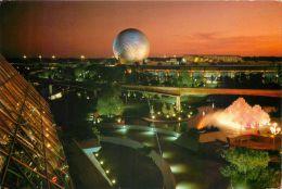 Future World, Epcot Center, DisneyWorld, Florida USA Postcard Used Posted To UK 1987 Stamp - Disneyworld
