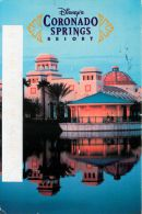 Coronado Springs Resort Hotel, DisneyWorld, Florida USA Postcard Used Posted To UK 2006 Stamp - Disneyworld