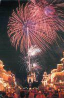 Fireworks, DisneyWorld, Florida USA Postcard Used Posted To UK 2007 Stamp - Disneyworld