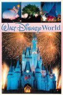 Multiview, DisneyWorld, Florida USA Postcard Used Posted To UK 2005 Stamp #1 - Disneyworld