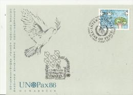 UNO NY 1986 - New-York - Siège De L'ONU