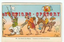 CARICATURE De PAUL NERI < GUERRE Au MAROC < SOUMISSIONS Des BENIBOUF KOUSSKOUSS - Illustrateurs & Photographes