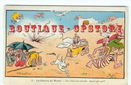 CARICATURE De PAUL NERI < GUERRE Au MAROC < UNE VISITE Des GOLIATHS  SAUVE QUI PEUT !.. - Illustrateurs & Photographes