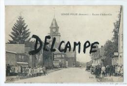 CPA - Condé Folie - Route D'Abbeville - France