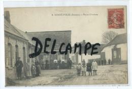 CPA - Condé Folie - Route D'Amiens - France