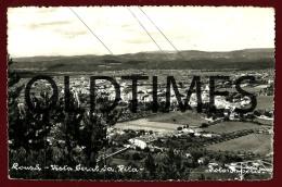 LOUSA - VISTA GERAL DA VILA - 1950 REAL PHOTO PC - Coimbra