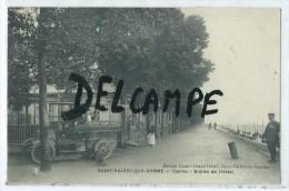 CPA - Saint Valéry Sur Somme - Casino - Entrée De L´Hôtel - Saint Valery Sur Somme