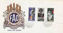 MALTA 1968 EUROPA SYMPATHY ISSUE  FDC - Europäischer Gedanke