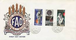 MALTA 1968 EUROPA SYMPATHY ISSUE  FDC - European Ideas