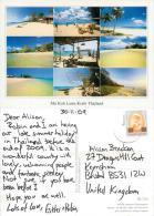 Mu Koh Lanta Krabi, Thailand Postcard Used Posted To UK 2009 Stamp - Thailand