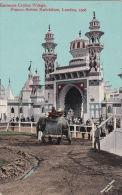 FRANCO -BRITISH EXHIBITION 1908.  ENTRANCE CEYLON VILLAGE - Exhibitions