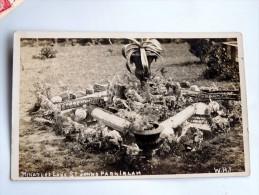Carte Postale Ancienne : Miniature Lake St Johns Park Irlam - Manchester