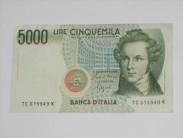 5 000 LIRE - Cinquemila - ITALIE  - Banca D´Italia 1985   **** EN ACHAT IMMEDIAT **** - [ 2] 1946-… : République