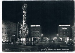 Ö-1913    LINZ :a.d. DONAU : Bei Nacht - Hauptplatz - Linz