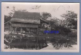 CPA Photo - LAOS - Maison D'habitation - 1954 - Laos