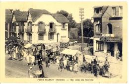 80 - Somme - Fort-Mahon, Un Coin Du Marché - Fort Mahon