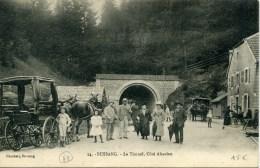 BUSSANG (Vosges) - Le Tunnel, Côté Alsacien - Très Animée - Bussang