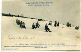 GERARDMER(Vosges) - Glissages En Girouettes Aux Flancs Des Montagnes - Gerardmer