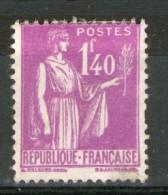 N° 371°_grosse Charnière Mais Faible Oblitération - 1932-39 Paz