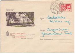 "Lithuania USSR 1967 Druskininkai, Sanatorium ""Belarus"", Canceled In Zhasliai & Salakas - Lituanie"
