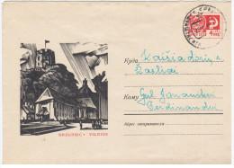 Lithuania USSR 1968 Vilnius, Canceled In Dukshtas Or Dūkštas - Lithuania
