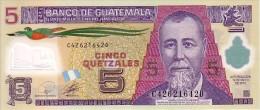 GUATEMALA  5 Quetzales  Daté Du 19-05-2010   Polymer       ***** BILLET  NEUF ***** - Guatemala