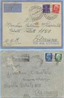 1938-40 AEREA 2 BUSTE NELLE DUE DIVERSE TARIFFE A.O.I. LETTERA 1° (L. 1,50 E 1,75) – INTERESSANTI (A272) - Africa Orientale