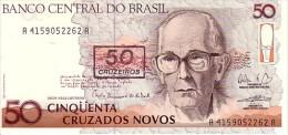 BRESIL   50 Cruzeiros/ 50 Cruzados Novos   Non Daté (1990)   Pick 223     ***** BILLET  NEUF ***** - Brésil