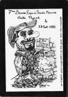 ILLUSTRATEUR  JP VERDIS 7ÈME  RENCONTRE À SAINTE MAXIME DES CARTOPHILES VAROIS CARICATURE DE BERTONE - Bourses & Salons De Collections