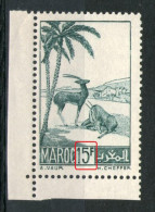 "N° 188* _Blanc Dans Chiffre ""1"" - Morocco (1891-1956)"
