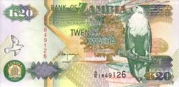 ZAMBIE   20  Kwacha Emission De 1992      Pick 36 B   Signature 11     ***** BILLET  NEUF ***** - Zambia
