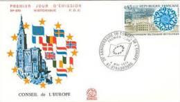 FRANCE 1974 EUROPA SYMPATHY ISSUE FDC - Europäischer Gedanke