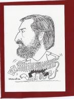 ILLUSTRATEUR SALVES RENCONTRE DES CARTOPHILES VAROIS CARICATURE DE JM ROSSI LE PLOMBIER - Bourses & Salons De Collections