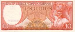 SURINAME   10 Gulden  Daté Du 01-09-1963    Pick 121            ***** BILLET  NEUF ***** - Surinam
