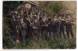 A LOCALISER - Groupe De Conscrits De La Classe 1911 - Curieux Instruments De Musique - Colorisée - Photos