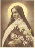 Grande Image De Sainte  BERNADETTE  17 Cm X 23 Cm - Devotion Images