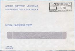1974 RECAPITO AUTORIZZATO L.35 BUSTA 1.10.74 RARO PER IL BREVE PERIODO D' USO COME ISOLATO OTTIMA QUALITÀ (A263) - 6. 1946-.. Repubblica