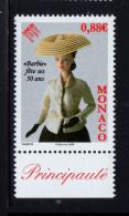 MONACO 2009 Un Timbre N° YT 2667** Cinquantenaire De La Poupée Barbie 0.88€ BDF - Monaco