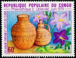 FB0133 Congo 1979 Ceramic Vase 1v MNH - Kongo - Brazzaville