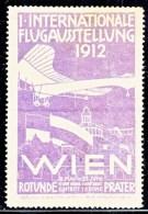 Austria First International Aviation Expo., Vienna  1912,  AEROPHILATELIC. - Airmail