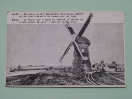 DOEL Den Molen / Le Moulin Op Den Scheldedijk ( 1434 ) ( C. WEEMAES / Hotel FLANDRIA ( Zie Foto Voor Details ) !! - Beveren-Waas