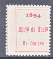 GUATAMALA   Revenue  58  ** - Guatemala