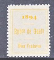 GUATAMALA   Revenue  60  * - Guatemala